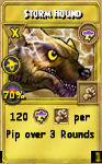 Storm Hound Treasure Card