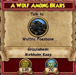 A Wolf Among Bears