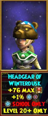 Headgear of the Winterdusk