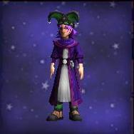 Amethyst Studded Cloak
