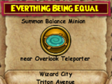 Everything Being Equal