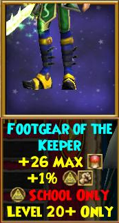 Footgear of the Keeper