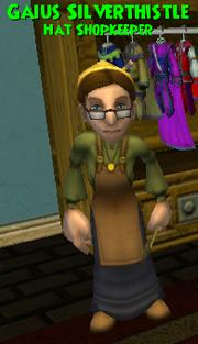 Gaius Silverthistle WC Hat Shopkeeper.png