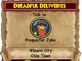 Dreadful Deliveries