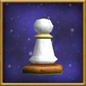 White Pawn Chesspiece