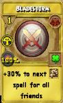 Bladestorm Treasure Card