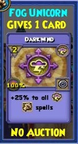 Darkwind Item Card