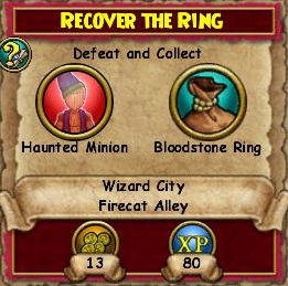 Recover the Ring