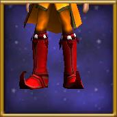 Sturdy Red Boots