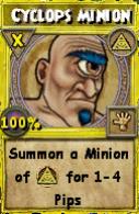 Cyclops Minion (Spell)