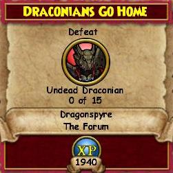 Draconians Go Home