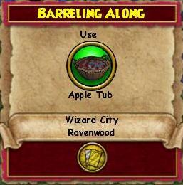 Barreling Along