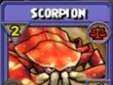 Scorpion Item Card