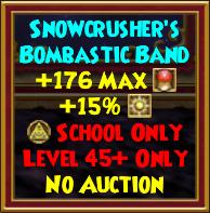 Snowcrusher's Bombastic Band