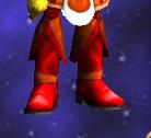 Feline's Fiery Boots