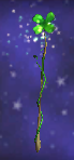 Charmed Shamrock Staff