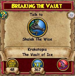 Breaking the Vault