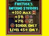 General Firetusk's Inferno Striders