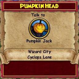 Pumpkin Head (Quest)