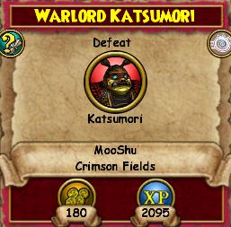 Warlord Katsumori (Quest)