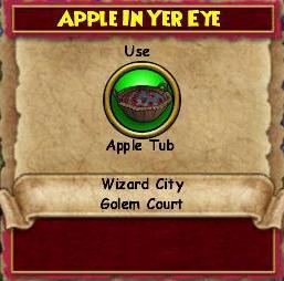 Apple in Yer Eye