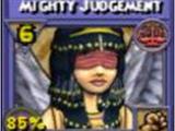 Mighty Judgement Item Card