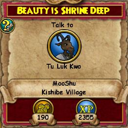 Beauty Is Shrine Deep