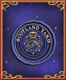 Scotland Yard Name Sign
