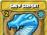 Snow Serpent Treasure Card