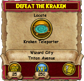 Defeat the Kraken