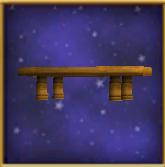 Plain Wooden Table