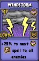 Windstorm Item Card