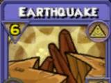 Earthquake Item Card