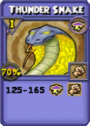 Thunder Snake Item Card
