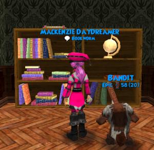 Untidy Bookshelf