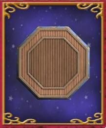 Octagonal Wooden Plaque