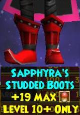 Sapphyra's Studded Boots