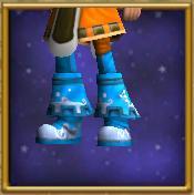 Sturdy Blue Boots