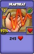 Heartbeat Item Card
