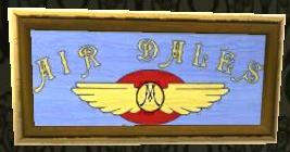 Air Dales Sign