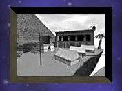 Framed Campsite Photo