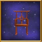 Torii-Backed Chair