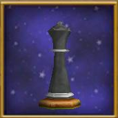 Black Queen Chesspiece