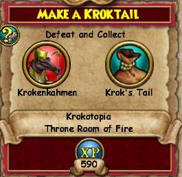 Make a Kroktail