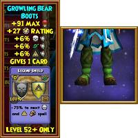 Growling Bear Boots