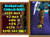 Barbarian's Courage Boots