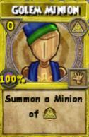 Golem Minion
