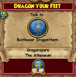 Dragon Your Feet