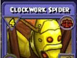 Clockwork Spider Item Card