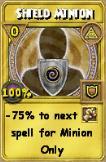 Shield Minion Treasure Card